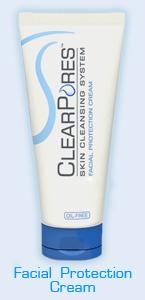 Clear Pores Facial protection cream